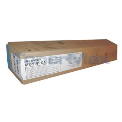 SHARP MX-4110N/5110N TONER CTG CYAN